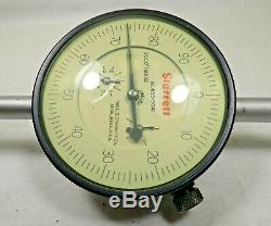 Starrett. 001 in Dial Indicator 3.000 in Range with Box (No. 655-3041J)