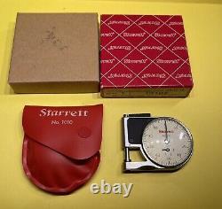 Starrett 1010 Pocket Dial Indicator Gage 1010Z 0.375 EDP 53114 NOS