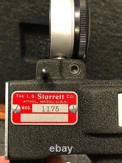 Starrett 1175 Series Dial Indicator Groove Gage (Inch) 0.376 6 Range