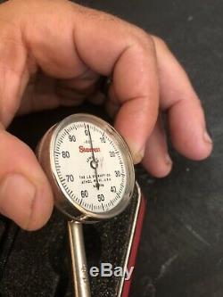 Starrett # 196 Button Dial Indicator. 001