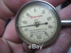 Starrett 196 Dial Test Indicator Universal Plunger Button