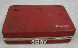 Starrett 196 Plunge Dial Test Indicator