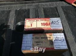 Starrett 196A Dial Test Indicator Kits / 2 kits / 1 price