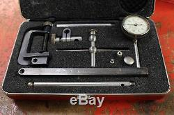Starrett 196A Dial Test Indicator. Original Box with Papers