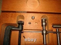 Starrett 196A Universal Dial Test Indicator Set Machinist Tool Lathe Mill