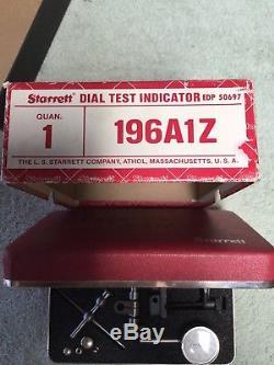Starrett 196A1Z Dial Test Indicator