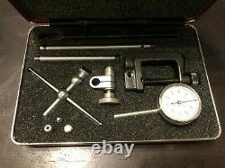 Starrett 196A1Z Dial Test Indicator Set Back Plunger Dial Machinist EDP 50697