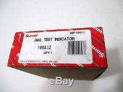 Starrett 196A1Z Dial Test Indicator Universal Back Plunger Complete Set