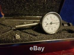 Starrett 196A1Z Dial Test Indicator with Case