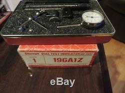Starrett 196A1Z & Starrett 196MA Dial Test Indicators