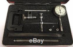 Starrett 196A1Z Universal Back Plunger Dial Indicator Kit, 0.200 Range. 001