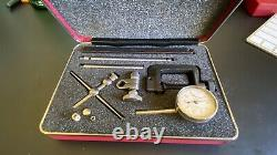 Starrett 196A1Z Universal Back Plunger Dial Indicator Set