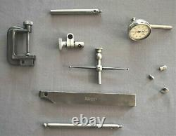 Starrett 196A1Z Universal Back Plunger Dial Indicator Set FREE SHIPPING