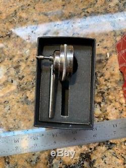 Starrett 196b1 Universal Back Plunger Dial Indicator, 0.200.001 P45