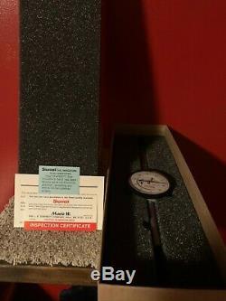 Starrett 2 Range, 0.001 Graduation Dial Drop Indicator, 25-2041J