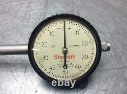 Starrett 25-141 Dial Indicator. 25 Range 5-1/2 Stem 0.001