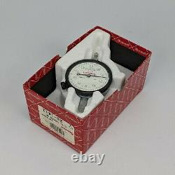 Starrett 25-141J Dial Indicator 0.250 Range 0-50-0.001 Grad. 375 Stem NOS