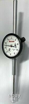 Starrett 25-2041J Dial Indicator, 0-2.000 Range. 001 Graduation