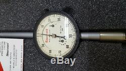 Starrett 25-2041J Dial Indicator 0-2 Range. 001 Increments
