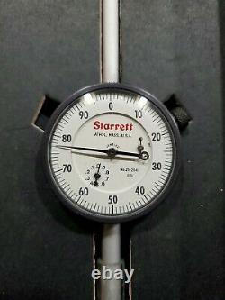 Starrett 25-2041J Dial Indicator 0-2 Range. 001 Very Nice