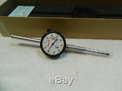 Starrett 25-2041J Dial Indicator 2.000 Measuring Range. 001 Graduation, 0-100