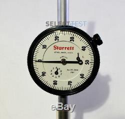 Starrett 25-2041j Dial Indicator, 0.001 Graduations