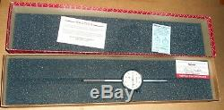 Starrett 25-2041j Jeweled Dial Indicator In Original Box 1.000 Range 2 Travel