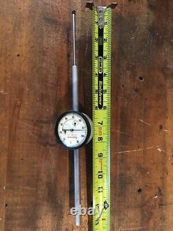 Starrett 25-3041 Dial Indicator 0-3.000 Range, 0-100 Dial Indicator