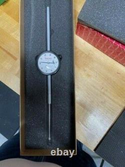 Starrett 25-3041J Dial Indicator 0-3.000 Range, 0-100 Continuous