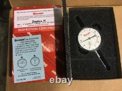 Starrett 25-341J Dial Indicator Brand New With Certification