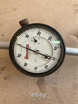 Starrett 25-4041 4.000 Inch Range Dial Indicator
