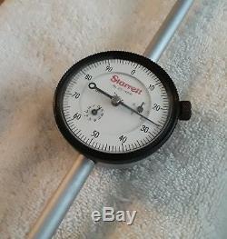 Starrett 25-4041 Dial Indicator /Long Range/ Jeweled/4.000 Range/. 001 Grad