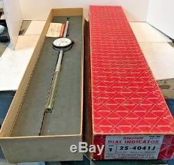 Starrett 25-4041J 4 Dial Indicator. 001, Machinist, Free Shipping