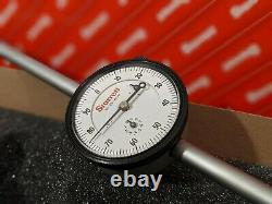 Starrett 25-4041J Dial Indicator, 0-4 In, 0-100.001