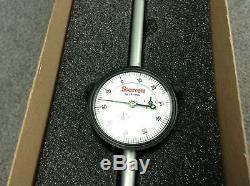 Starrett 25-4041J Dial Indicator 2-1/4 4.000,0-100 Dial