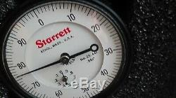 Starrett 25-441.001 Dial Indicator 2 Face 1.000 Range