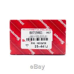 Starrett 25-441J Dial Drop Indicator 1 Range x. 001 Grad. 0-100 53295