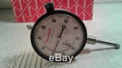 Starrett 25-441J Dial Indicator 0-1 Range WITH Box Made In The USA LOOKS NOS