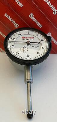 Starrett 25-441J Travel Dial Indicator, Brand new