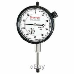 Starrett 25-441P 0-1 0-100 AGD 2 DiaI Indicator