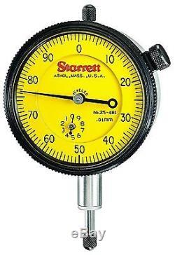 Starrett 25-481J Dial Indicator NEW