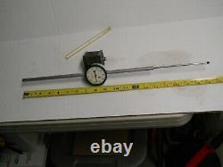 Starrett #25-5041 Long Range Dial Indicator with657 Mag. Base 5 Range ON SALE