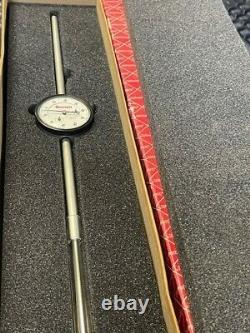 Starrett 25-5041J Dial Indicator, 0-5 Range, 0-100.001 Grads