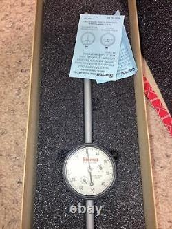 Starrett 25-5041J Dial Indicator, 0-5 Range, 0-100.001 Grads MAKE OFFER CLEAN