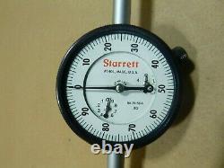 Starrett 25-5041J Dial Indicator 2-1/4 5.000,0-100 Dial
