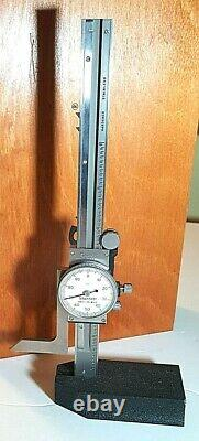 Starrett 250Z-6 Dial Height Gage, 0-6, XLNT, Missing Scriber/Indicator Clamp