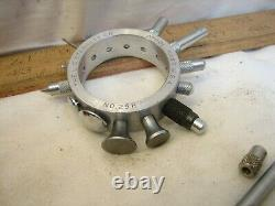 Starrett 25R Dial Test Indicator Gauge Contact Points Machinist Gage Tool 25 R
