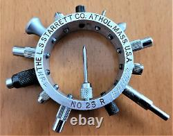 Starrett 25r Dial Indicator Contact Point Set