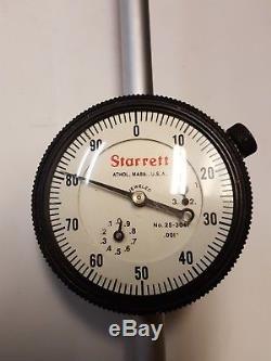 Starrett 3 Dial Indicator, 25-3041