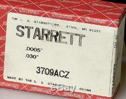 Starrett 3709ACZ Dial Test Indicator EDP67091
